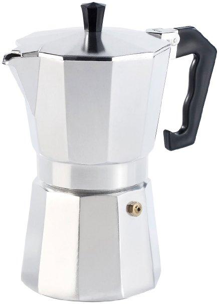 cucina di modena espressokocher f r 6 tassen espressomaschine test 2017. Black Bedroom Furniture Sets. Home Design Ideas