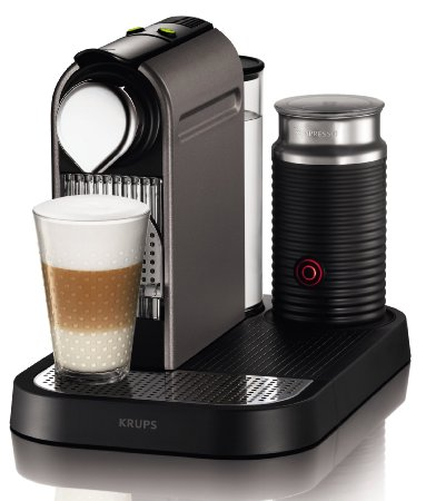 Krups XN 730T Nespresso New CitiZ&milk