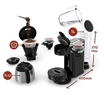 philips senseo hd7892 60 switch espressomaschine test 2018. Black Bedroom Furniture Sets. Home Design Ideas