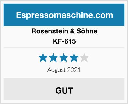 Rosenstein & Söhne KF-615 Test