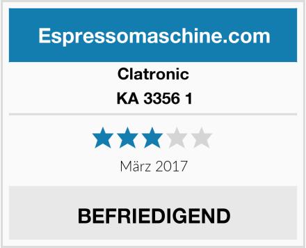 Clatronic KA 3356 1 Test