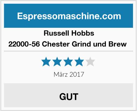 Russell Hobbs 22000-56 Chester Grind und Brew  Test