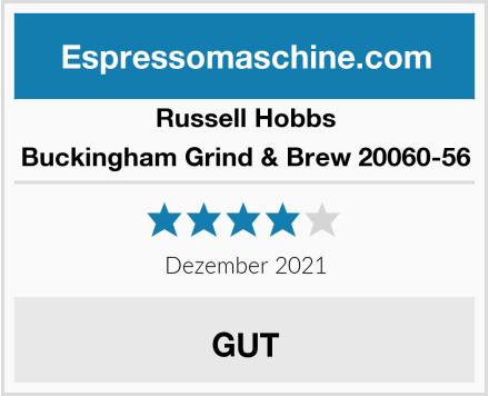 Russell Hobbs Buckingham Grind & Brew 20060-56 Test