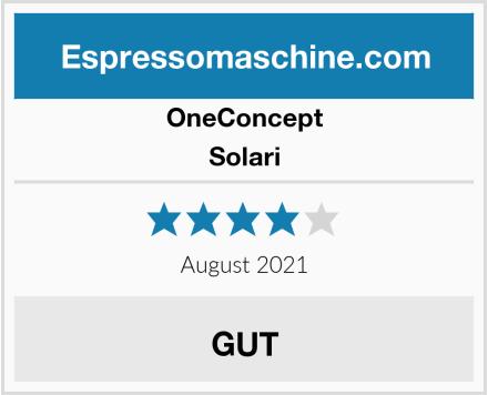 OneConcept Solari Test