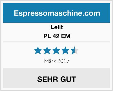 Lelit PL 42 EM Test