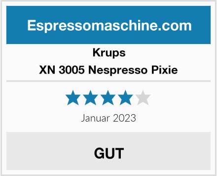 Krups XN 3005 Nespresso Pixie Test