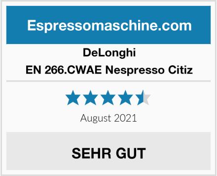 DeLonghi EN 266.CWAE Nespresso Citiz Test