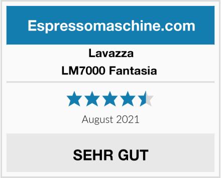 Lavazza LM7000 Fantasia  Test