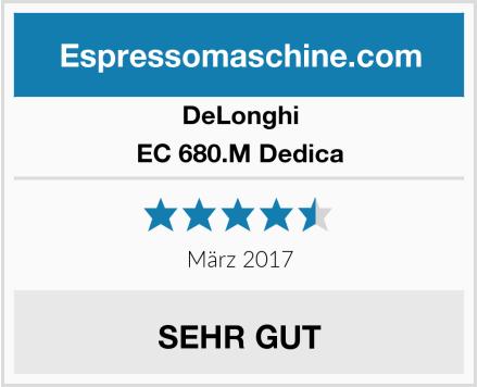 DeLonghi EC 680.M Dedica Test
