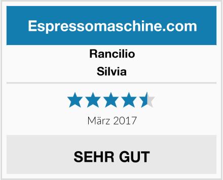 Rancilio Silvia Test