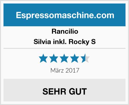 Rancilio Silvia inkl. Rocky S Test