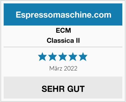 ECM Classica II Test