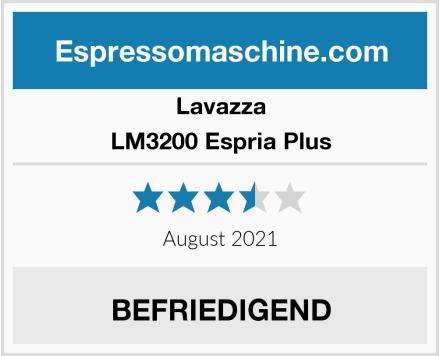 Lavazza LM3200 Espria Plus Test