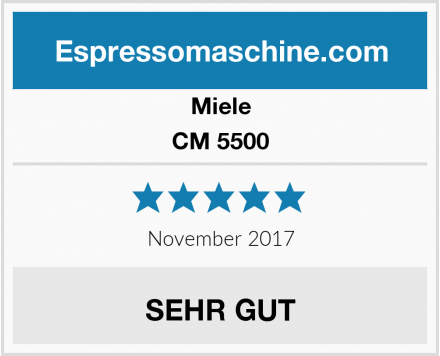 Miele CM 5500 Test