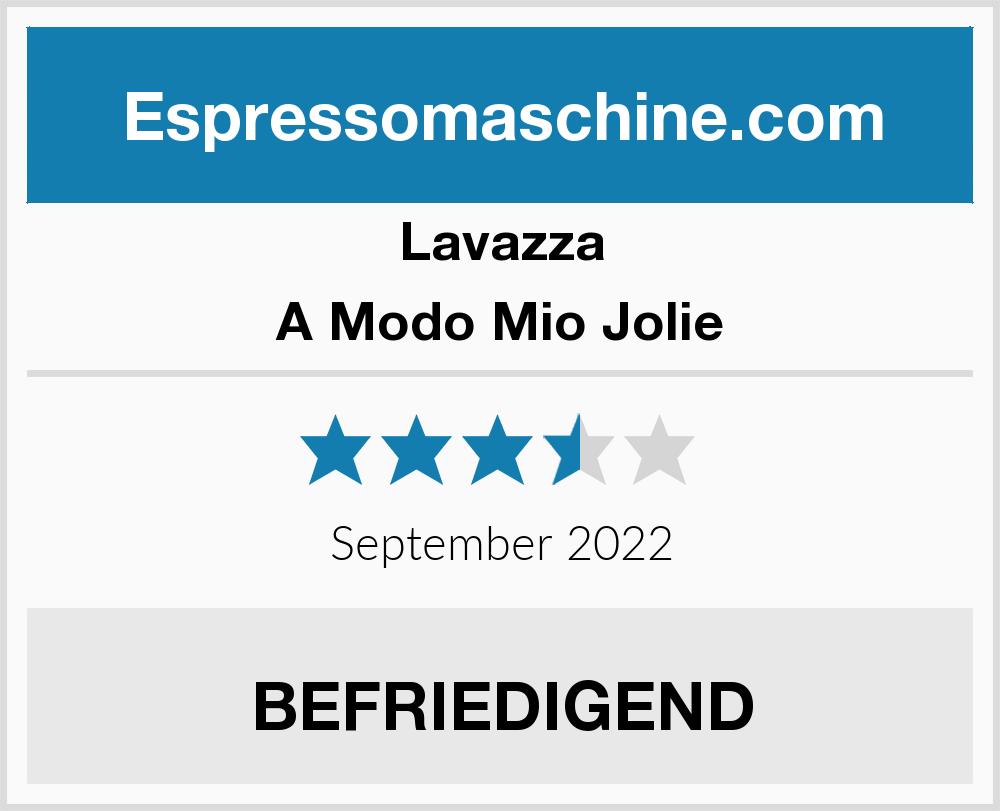 Lavazza A Modo Mio Jolie Espressomaschine Test 2018 2019