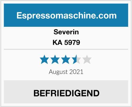 Severin KA 5979 Test