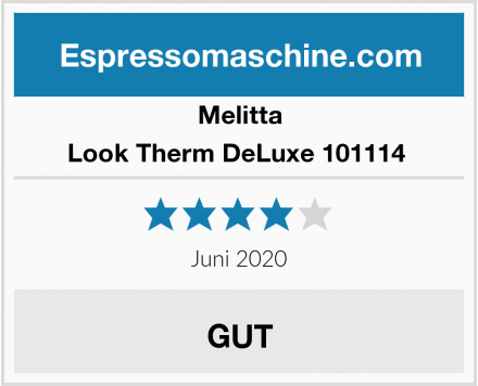 Melitta Look Therm DeLuxe 101114  Test