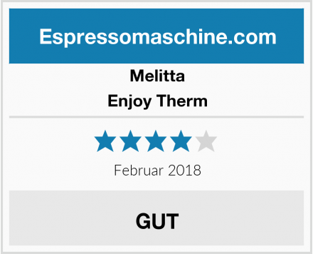 Melitta Enjoy Therm Test