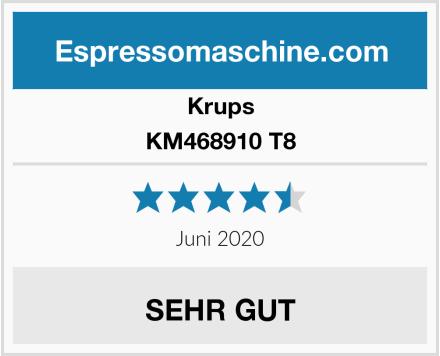 Krups KM468910 T8 Test