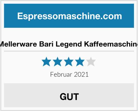 Mellerware Bari Legend Kaffeemaschine Test
