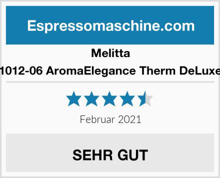 Melitta 1012-06 AromaElegance Therm DeLuxe Test