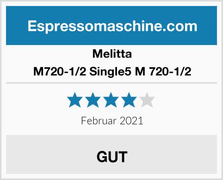Melitta M720-1/2 Single5 M 720-1/2 Test