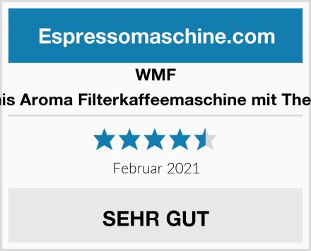 WMF Küchenminis Aroma Filterkaffeemaschine mit Thermoskanne Test