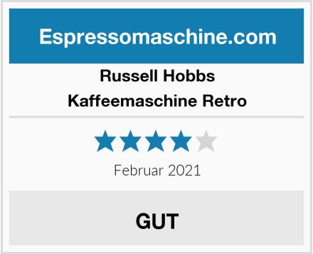 Russell Hobbs Kaffeemaschine Retro Test
