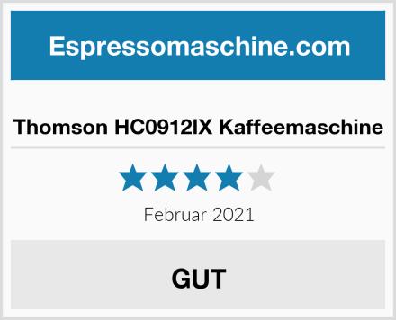 Thomson HC0912IX Kaffeemaschine Test