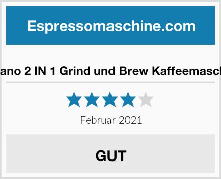 Yabano 2 IN 1 Grind und Brew Kaffeemaschine Test