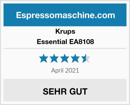 Krups Essential EA8108 Test