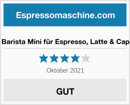 Breville Barista Mini für Espresso, Latte & Cappuccino Test