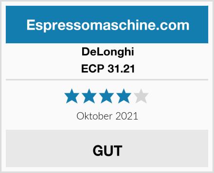 DeLonghi ECP 31.21 Test