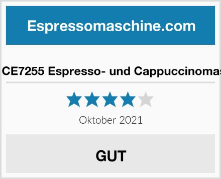 Ufesa CE7255 Espresso- und Cappuccinomaschine Test