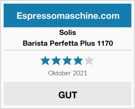 Solis Barista Perfetta Plus 1170 Test