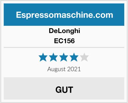 DeLonghi EC156 Test