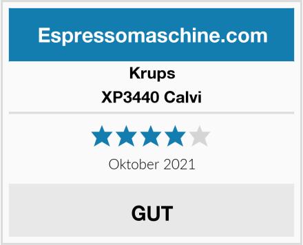 Krups XP3440 Espresso-Automat Calvi Test