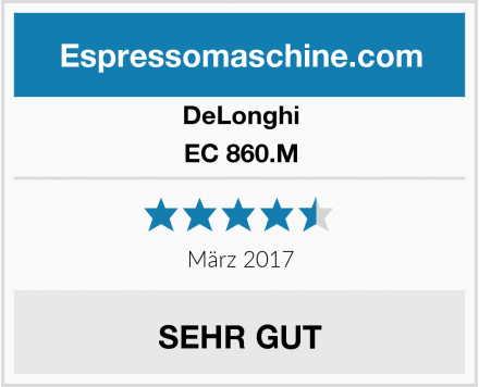 DeLonghi EC 860.M Test