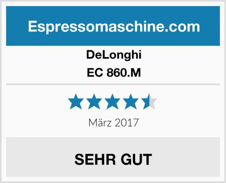 DeLonghi EC 860.M Test