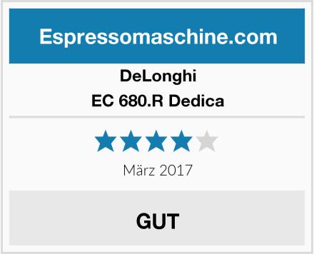 DeLonghi EC 680.R Dedica Test