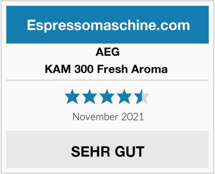 AEG KAM 300 Fresh Aroma  Test