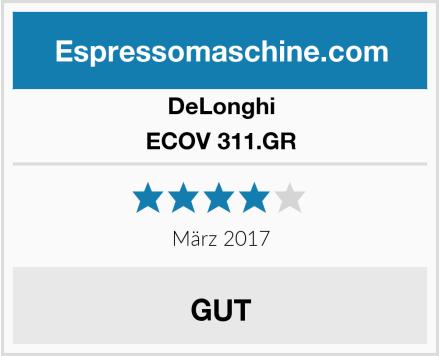 DeLonghi ECOV 311.GR Test