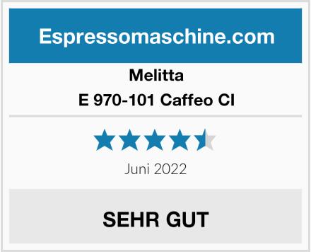 Melitta E 970-101 Caffeo CI Test