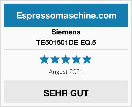 Siemens TE501501DE EQ.5 Test