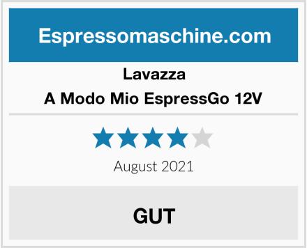 Lavazza A Modo Mio EspressGo 12V Test