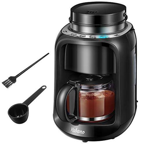 Yabano 2 IN 1 Grind und Brew Kaffeemaschine